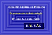 Hepatitis Cronica En PediatríA Abri...