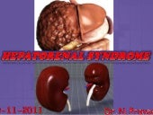 Hepatorenal syndrome