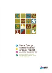 Hera Group consolidated annual repo...