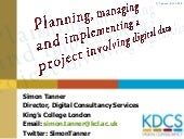 Planning, managing and implementing...