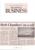 Herb Chambers On A Roll Metrowest 12 02 2009