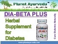 Herbs and Herbal Supplement for Diabetes Treatment