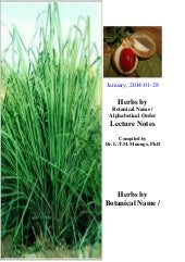 Common Herbal Plants, Dr. L.T.M. Mu...