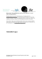 HERE Project interim report 2009 10