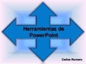 Herramientas power point