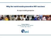 Why the world needs preventive HIV ...