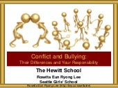 Hewitt Conflict and Bullying