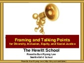 Hewitt Framing and Talking Points