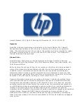 Hewlett-Packard (HPQ) QR 2011 Earnings Call - November 21, 2011