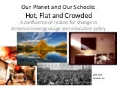Changing energy and education in Am...