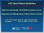 2009 ACCF/AHA Heart Failure Guidelines