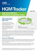 High Growth Markets International Acquisition Tracker - August 2013