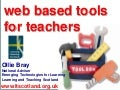 Web Based Tools for Teachers