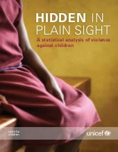 Hidden in Plain Sight: A statistical analysis of violence against children