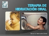 Hidratacion oral pediatria