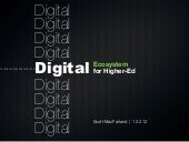 Digital and Higher-Ed