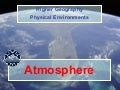 Higher Geography Atmosphere Introduction