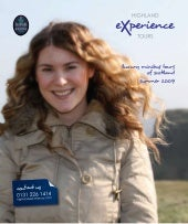 Highland Experience Tour Brochure 2009
