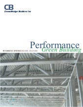 High performance green building mar...