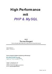 High performance mit PHP