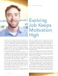 Evolving Job Keeps Motivation High