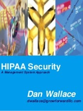 A project approach to HIPAA