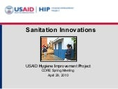 Sanitation Innovations - Hygiene Im...