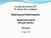 Hipertension y Nefropatia Diabetica