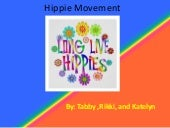 Hippie movement (1)