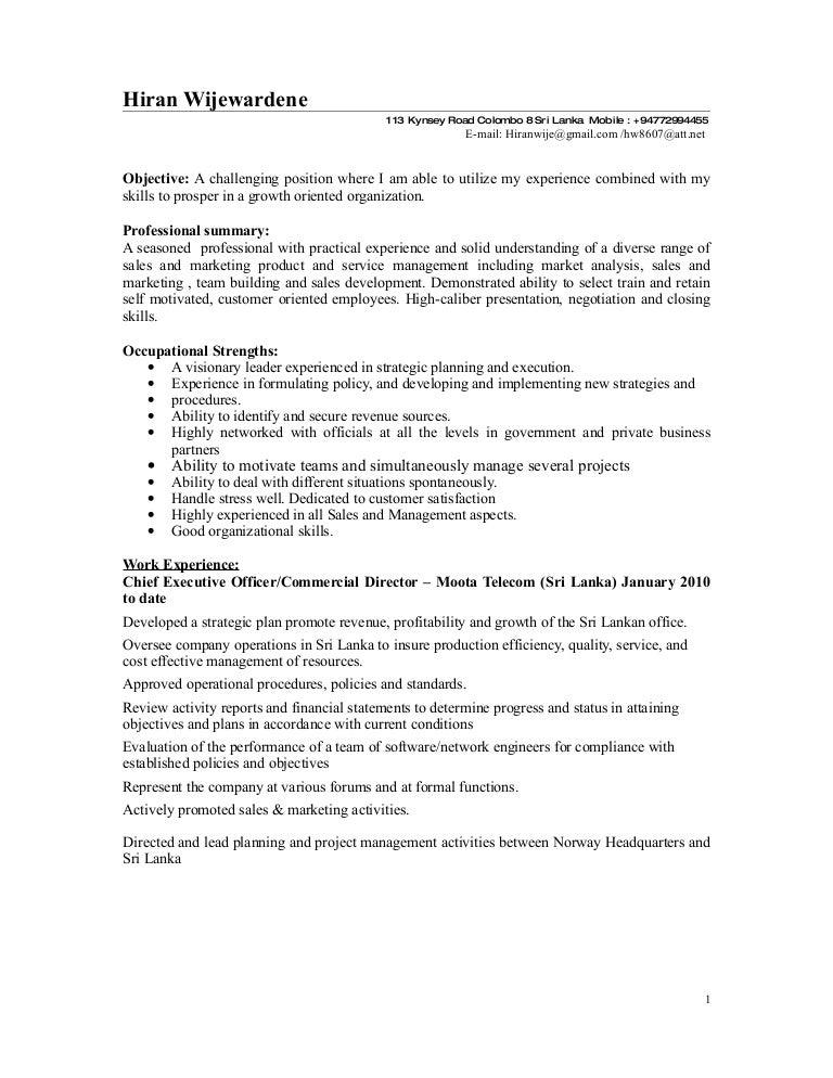 freight forwarder resume sample