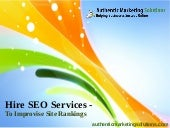 Hire SEO services – to improvise si...