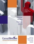 Career Directors International's 2012 Global Hiring Survey