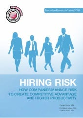 Hiring Risk Management Systems   Ca...