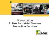 Presenation A HAK Industrial Services