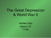 Hist 141   the great depression & ww2