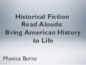 Historical Fiction Read Alouds