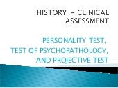 History   clinical assessment[1]
