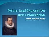 Netherland Exploration and Coloniza...