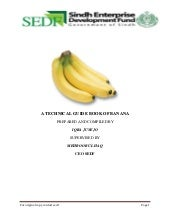technical guide book of  banana,sedf