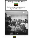 History of the PG-RNA|The Provisional Government of the Republic of New Afrika