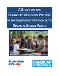 Handicap International: Study on  Disability Inclusion in Emergency Response