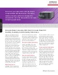 Enterprise Blade Computing With Hitachi Compute Blade 500: Flexibility, Scalability and Outstanding Performance