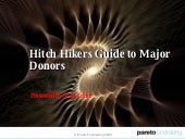 Hitch Hikers Guide To Major Donors ...
