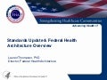 Federal Health Architecture HIT Policy Committee Update