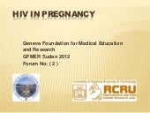 HIV in pregnancy in sudan