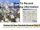 Finance for non financial personnel - part 3