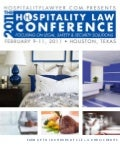 2011 Hospitality Law Conference by HospitalityLawyer.com :: Brochure
