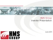 HMS Group Investor Presentation Jun...