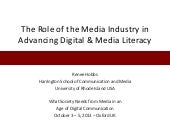 The Role of the Media Industry in A...