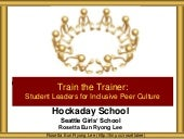 Hockaday Student Leaders Train the Trainer
